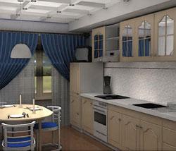 Спланировать кухню в 3d - 4793
