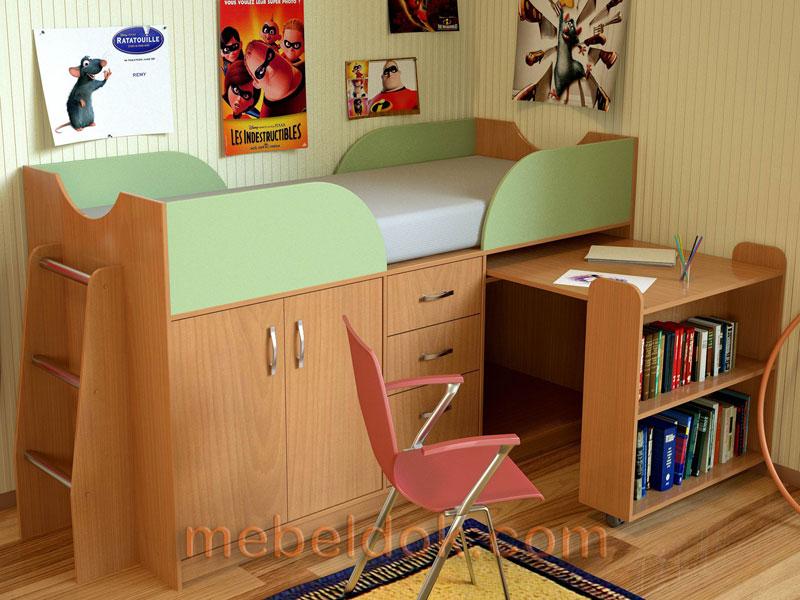Модель детской кровати КД-01
