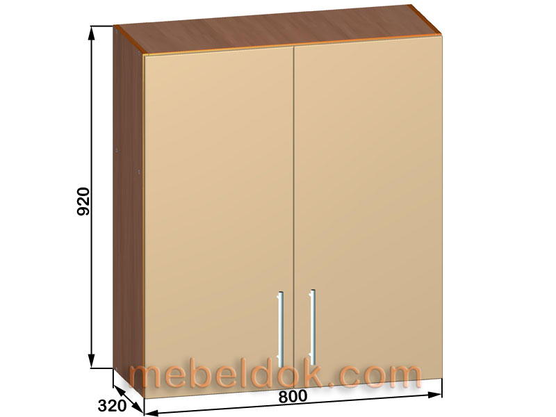 кухонные шкафы навесные - фото 12