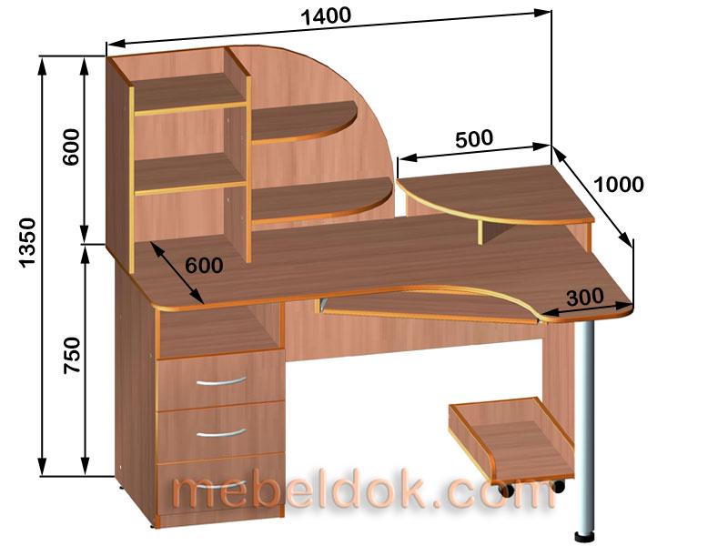 Угловой компьютерный стол своими руками чертежи фото - Pizza e Birra