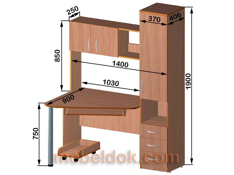 Мебель своими руками компьютерных столов 1