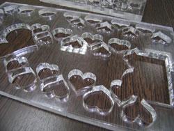 фигурные изделия из оргстекла