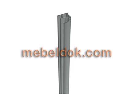 вертикальный открытый профиль-ручка