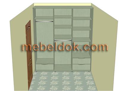 Замер помещения под установку шкафа-купе